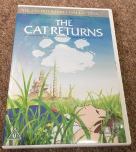 Cover of DVD of The Cat Returns
